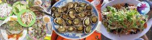 Thực đơn ăn trưa tại Tour Hòn Khô Nhơn Hải