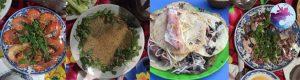 Bữa trưa tại tour Du Lịch Cù lao Xanh
